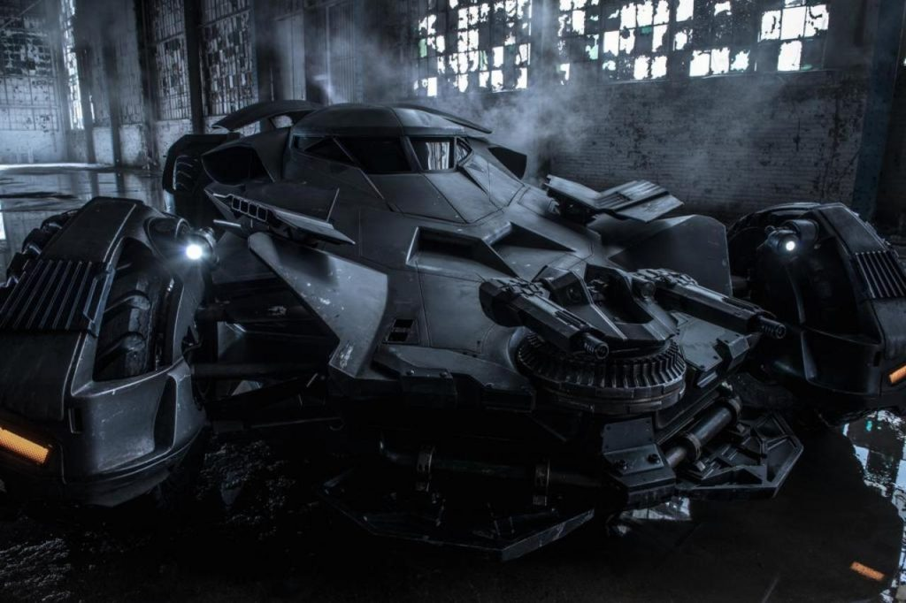 The latest Batmobile.