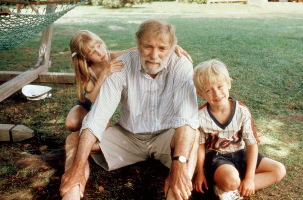 ROCKET GIBRALTAR, Angela Goethals, Burt Lancaster, Macaulay Culkin, 1988 © Colombia Pictures/