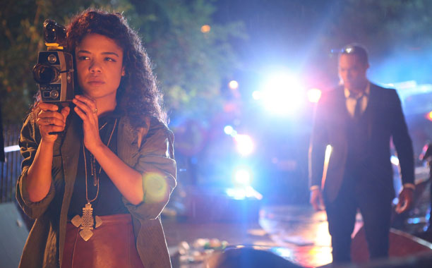 Tessa Thompson stars in DEAR WHITE PEOPLE, a film full of film students.