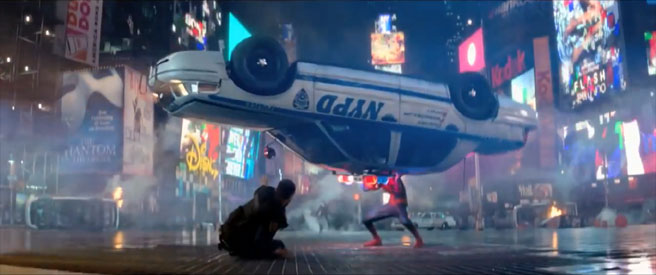 SpidermanCopCar