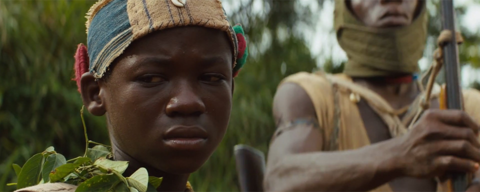 Abraham Attah goes to war in BEASTS OF NO NATION.