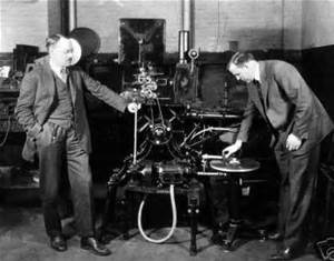 A Vitaphone sound-on-disc demonstration.