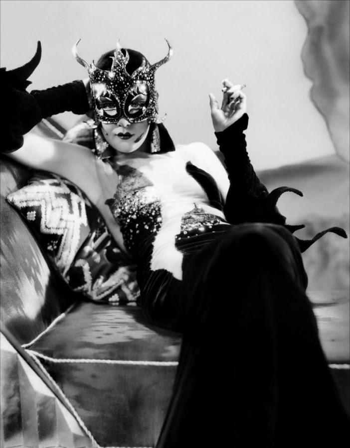 """DeMille's racy presumed moralizing in """"Madame Satan"""" 1920."""