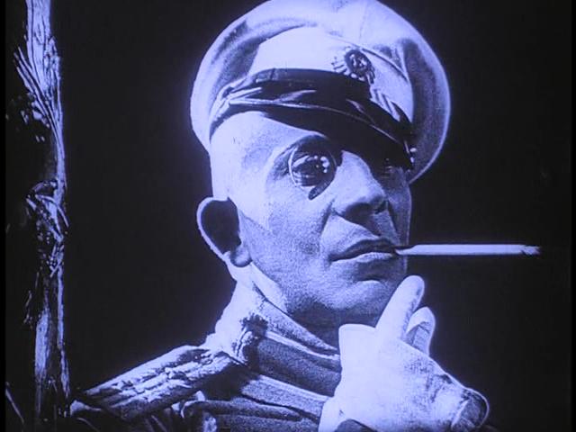 """Von Stroheim in """"Foolish Wives"""" (1922)"""