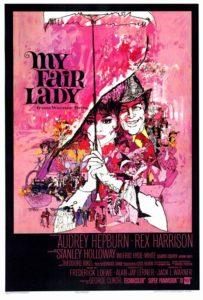 Hepburn_My Fair Lady poster