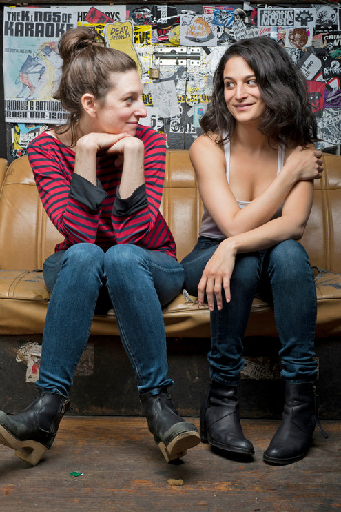Writer-director Gillian Robespierre and star Jenny Slate