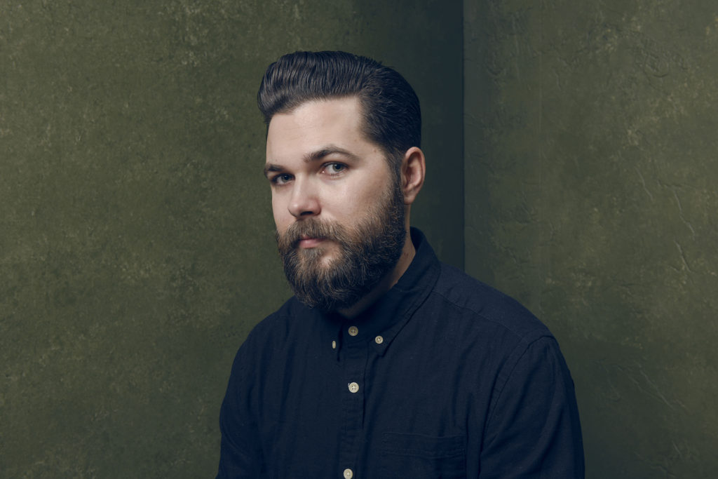 """PARK CITY, UT - JANUARY 26: Director/writer Robert Eggers of """"The Witch"""" poses for a portrait at the Village at the Lift Presented by McDonald's McCafe during the 2015 Sundance Film Festival on January 26, 2015 in Park City, Utah. Larry Busacca/Getty Images/AFP"""
