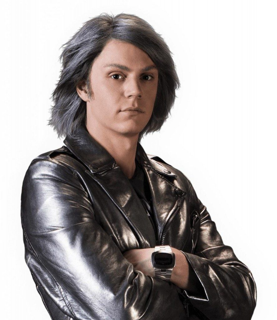 Evan Peters as Quicksilver
