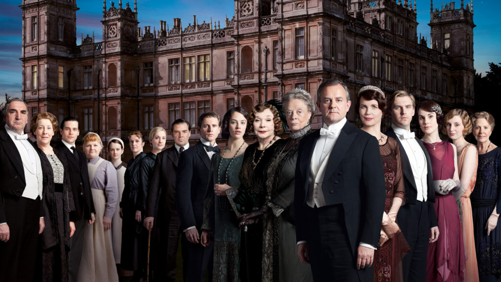 "Third season cast of ""Downton Abbey"""