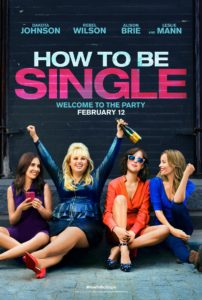 how-to-be-single poster