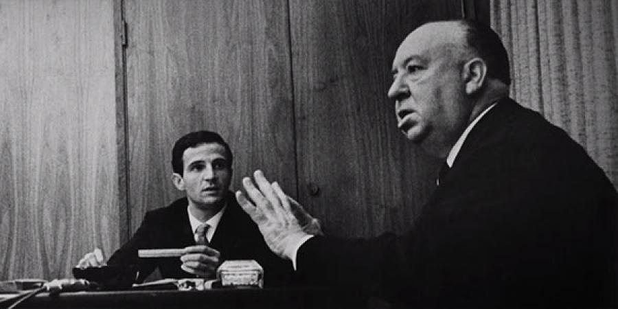 Truffaut, Hitchcock (l-r)
