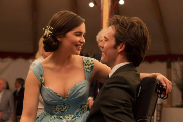Emilia Clarke and Sam Claflin dancing at a wedding in Me Before You
