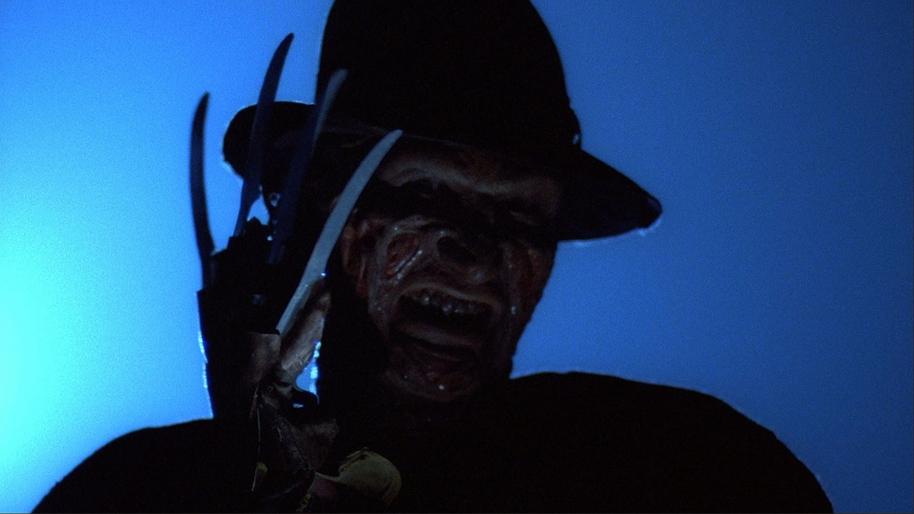 Robert Englund as Freddy Krueger in A NIGHTMARE ON ELM STREET (1984).