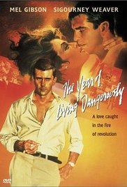 Year of Living Dangerously poster