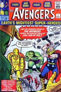"""The original """"Avengers"""" #1."""