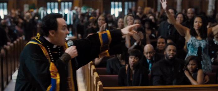 John Cusack preaches in CHI-RAQ.