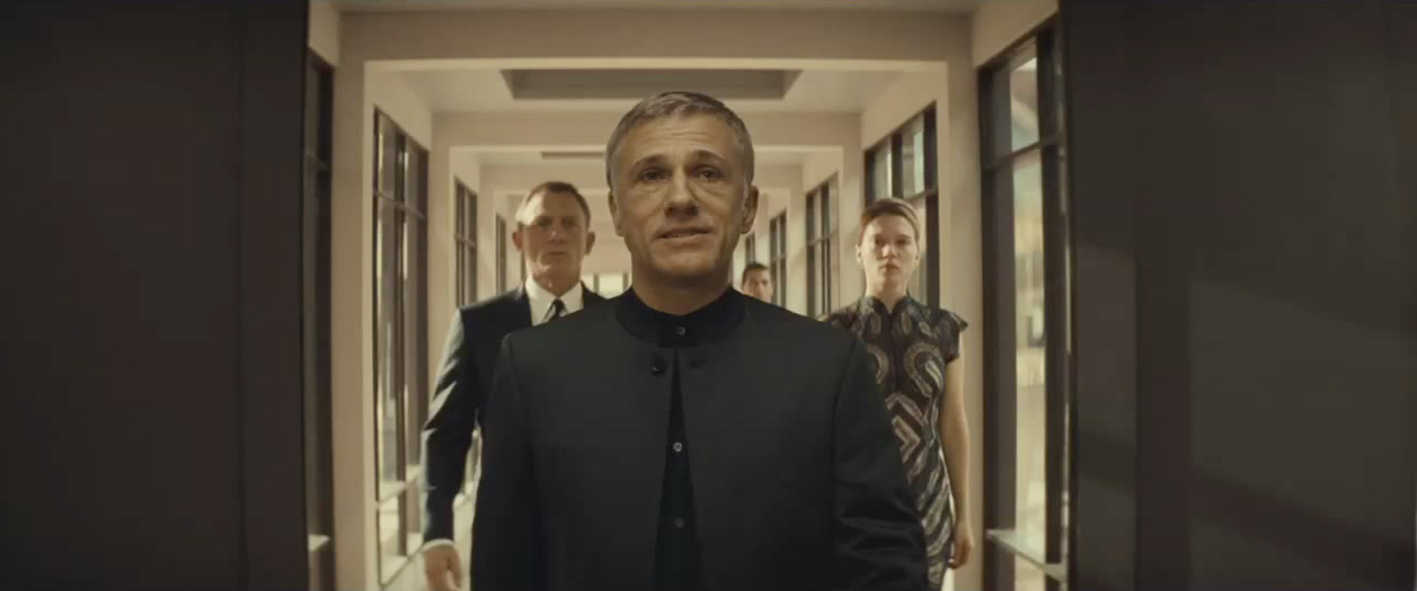 Christoph Waltz brings Craig and Léa Seydoux into his evil lair…