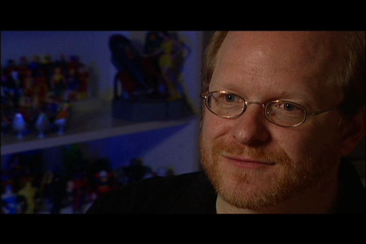 Comic writer Mark Waid
