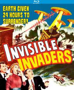 Invisble Invaders poster