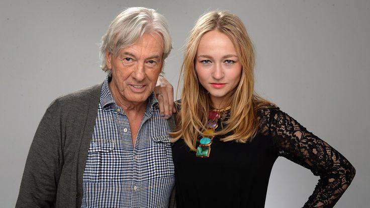 Director Paul Verhoeven with TRICKED actress Carolien Spoor.