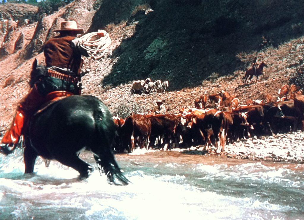 The Cariboo Trail: rustlin' in full CineColor