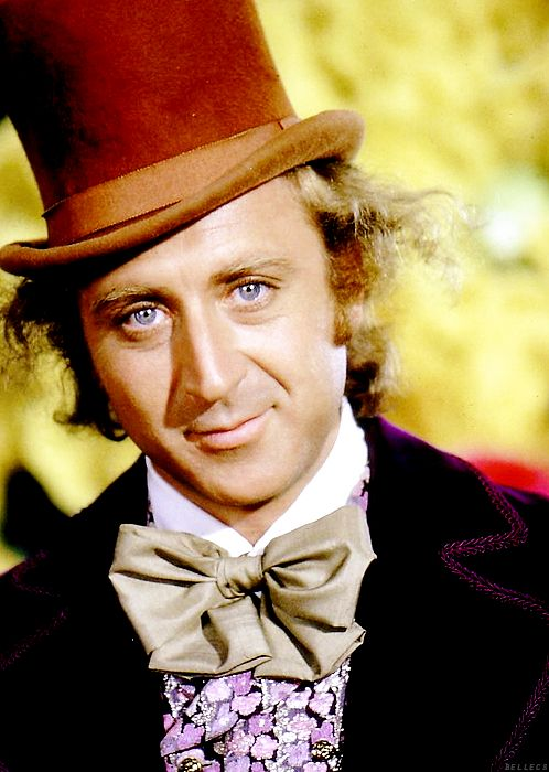 Wilder as Willy Wonka (1971)
