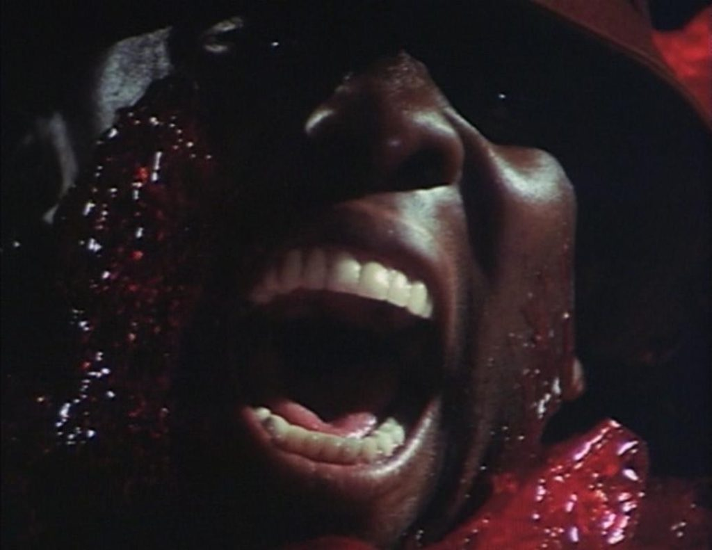 Godfrey Cambridge meets his maker, but first The Blob, in BEWARE! THE BLOB