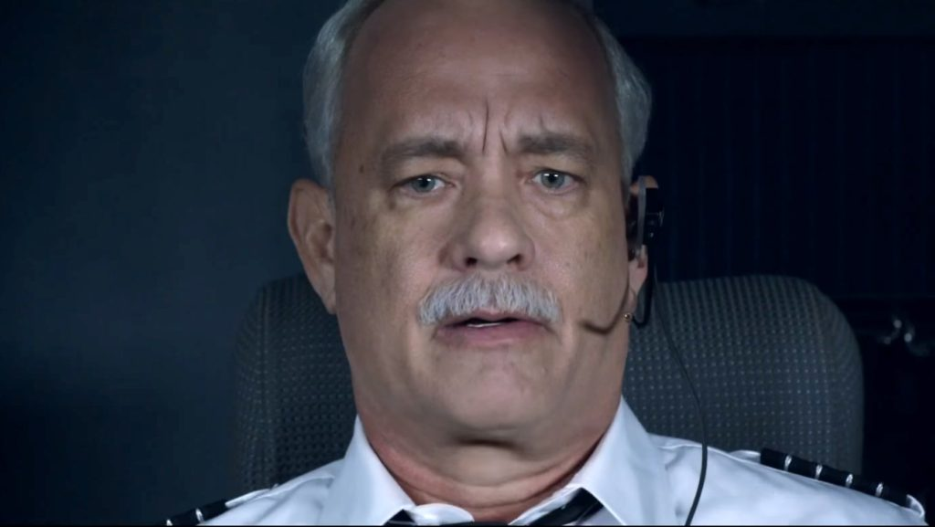 Tom Hanks is Sully.