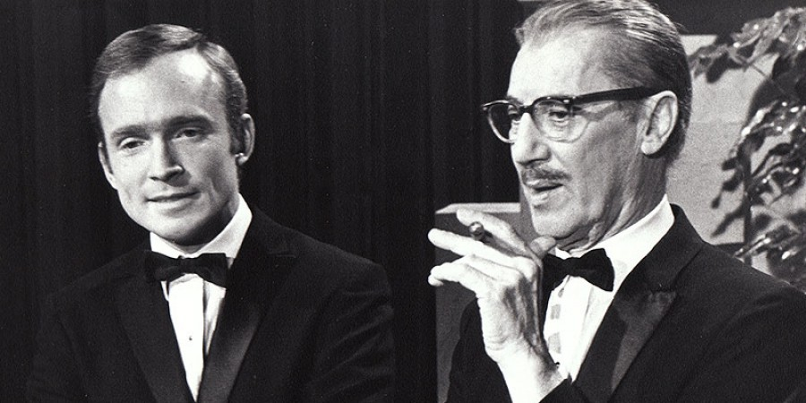 Dick Cavett and frequent interviewee Groucho Marx