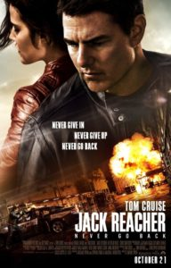 Jacker Reacher: Never Go Back Poster