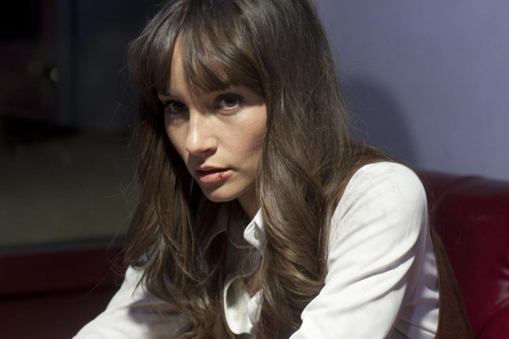 Jocelin Donahue in THE FRONTIER.