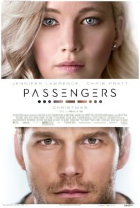 Passengers (2016) Poster Starring Jennifer Lawrence and Chris Pratt