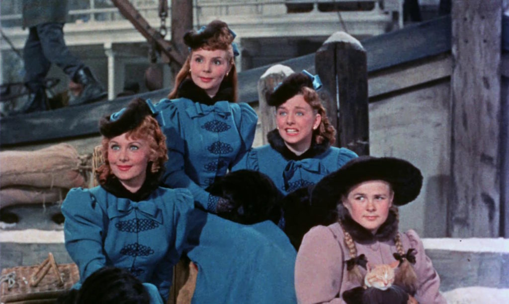 Rhonda Fleming, Teresa Brewer, Cynthia Bell, and Kay Bell in Those Redheads From Seattle (1953)