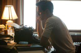 Nicholas Hoult as J.D. Salinger in REBEL IN THE RYE (2017)
