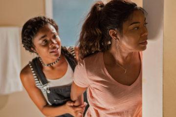 Ajiona Alexus and Gabrielle Union in BREAKING IN (2018)