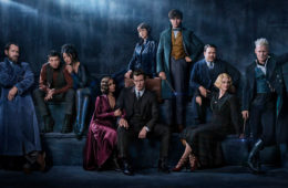 The cast of FANTASTIC BEASTS: THE CRIMES OF GRINDELWALD (2018)