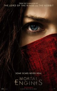 MORTAL ENGINES (2018) poster