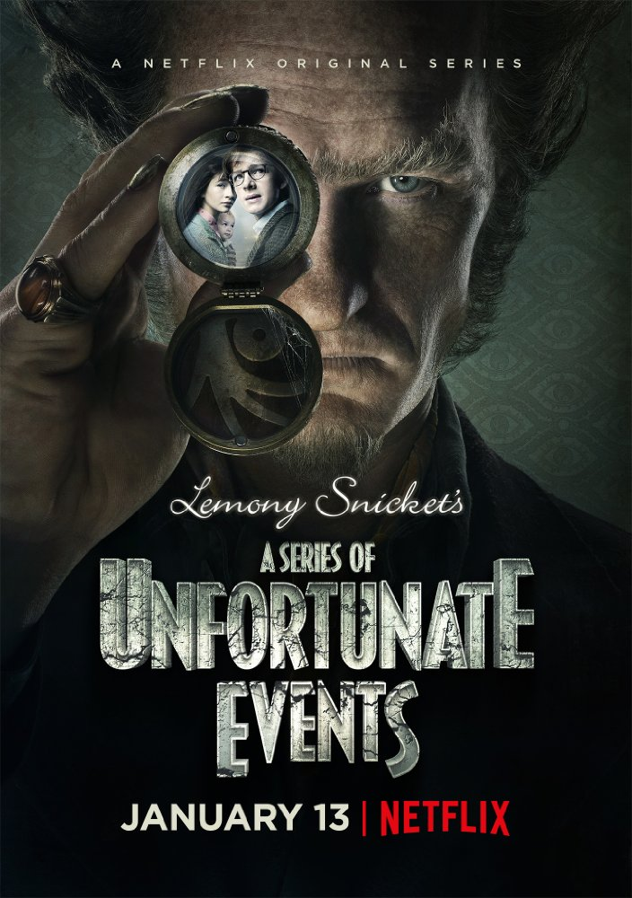 A SERIES OF UNFORTUNATE EVENTS season 1 poster (2017)