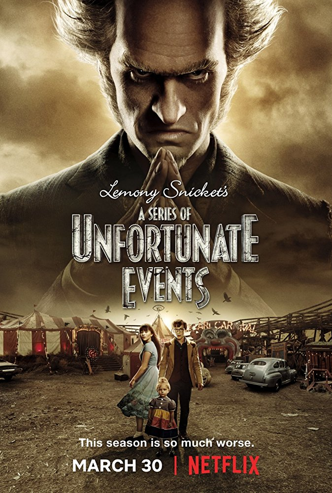 A SERIES OF UNFORTUNATE EVENTS season 2 poster (2018)