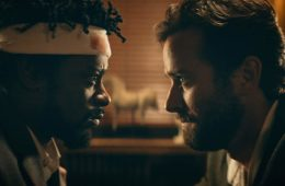 Lakeith Stanfield and Armie Hammer in SORRY TO BOTHER YOU (2018)